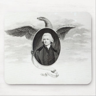 Dr. Priestley, illustration from Philosophers Mouse Pad
