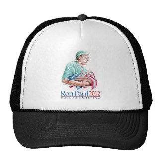 Dr Ron Paul 2012 For President Hats