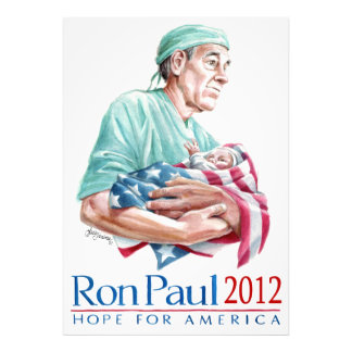 Dr. Ron Paul 2012 For President Photo Print