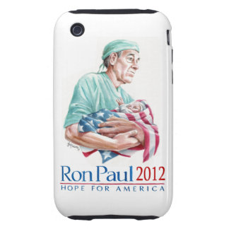 Dr. Ron Paul 2012 For President Tough iPhone 3 Covers