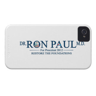 Dr. Ron Paul M.D. For President 2012 iPhone 4 Case