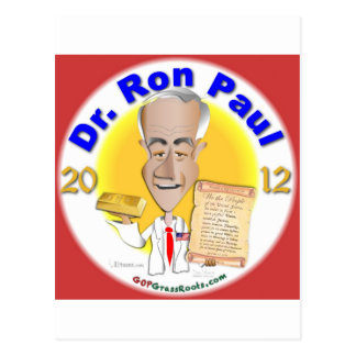 Dr. Ron Paul Postcard