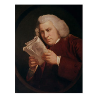 Dr. Samuel Johnson  1775 Postcard