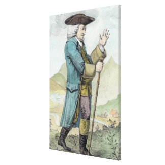 Dr Samuel Johnson Gallery Wrapped Canvas