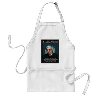 Dr. Samuel Johnson Standard Apron