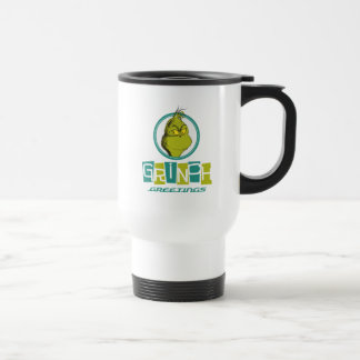 Dr. Seuss | Grinch Greetings Travel Mug