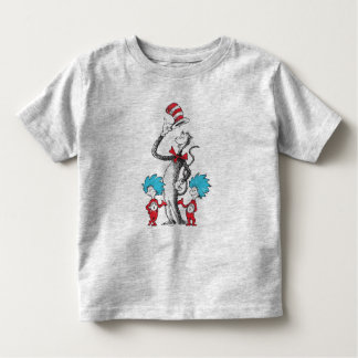 Dr. Seuss | The Cat in the Hat, Thing 1 & Thing 2 Toddler T-Shirt