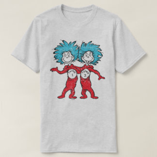 Dr. Seuss | Thing 1, Thing 2 Sitting T-Shirt
