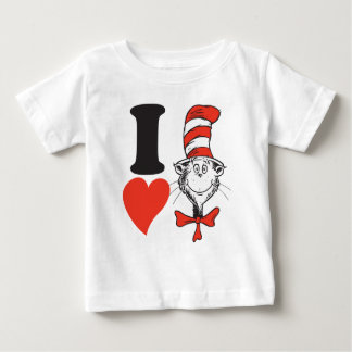 Dr. Seuss Valentine | I Heart the Cat in the Hat Baby T-Shirt