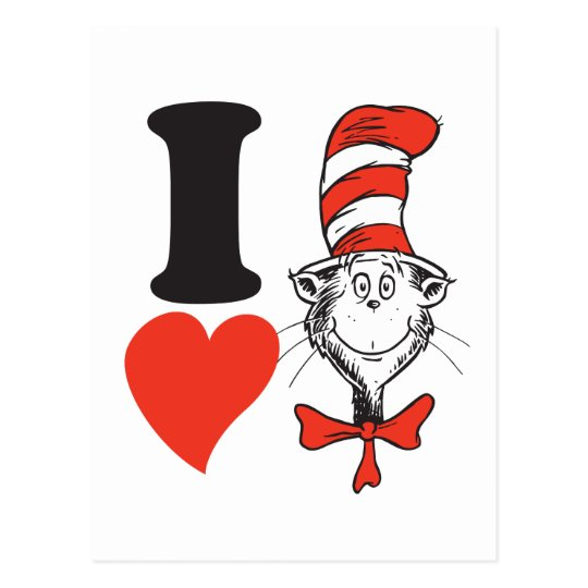 Dr. Seuss Valentine | I Heart the Cat