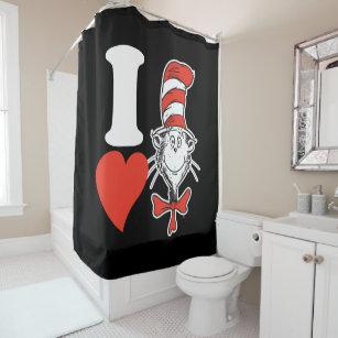 Vintage Valentine Shower Curtains