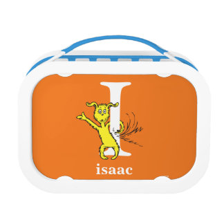 Dr. Seuss's ABC: Letter I - White | Add Your Name Lunch Box