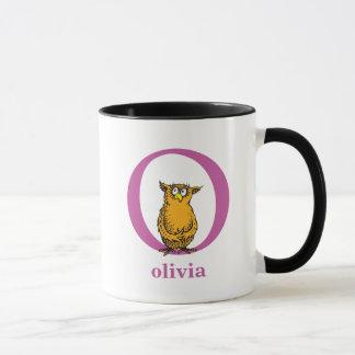Dr. Seuss's ABC: Letter O - Purple | Add Your Name Mug