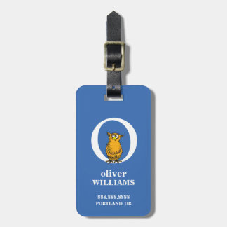 Dr. Seuss's ABC: Letter O - White | Add Your Name Luggage Tag