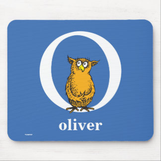 Dr. Seuss's ABC: Letter O - White | Add Your Name Mouse Mat