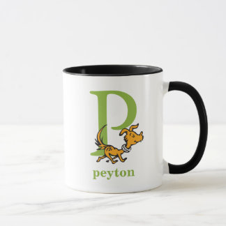 Dr. Seuss's ABC: Letter P - Green | Add Your Name Mug