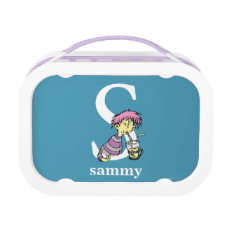 Dr. Seuss's ABC: Letter S - White   Add Your Name Lunch Boxes