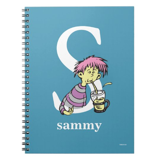 Dr. Seuss's ABC: Letter S - White | Add Your Name Notebooks
