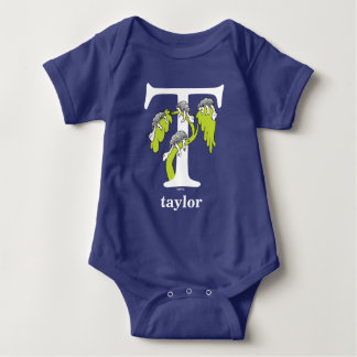 Dr. Seuss's ABC: Letter T - White | Add Your Name Baby Bodysuit