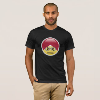 Dr. Social Media Confused Turban Emoji T-Shirt