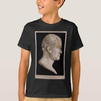 Dr. Spurzheim's phrenology chart T-Shirt