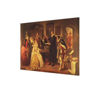 Dr William Gilberd Canvas Print