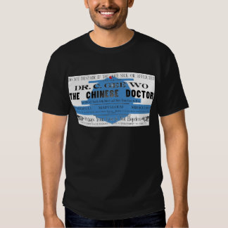 Dr Wo The Chinese Doctor Vintage Ad Tees
