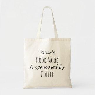 Draagtas satchel today good mood coffee