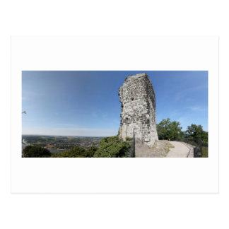 Drachenfels Panoramic View Postcard