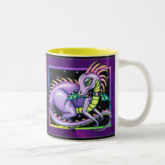 """Draco"" Cute Baby Rainbow Dragon Mug"