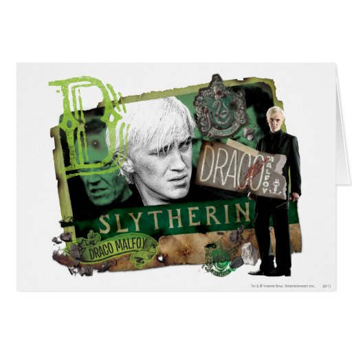 Draco Malfoy Collage 1 Greeting Card