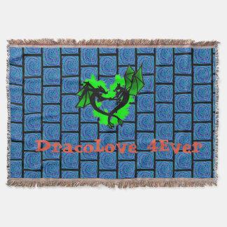 Dracolove throw blanket
