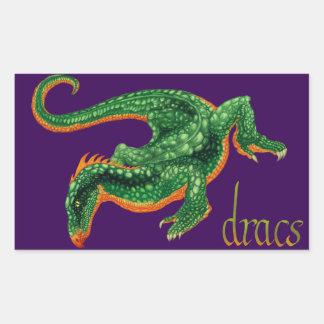 Draconis Rectangular Sticker