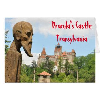 Dracula Castle in Bran, Brasov, Transylvania Card