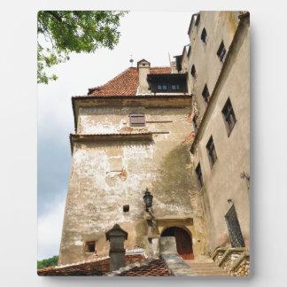 Dracula Castle in Bran, Brasov, Transylvania Plaque