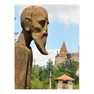 Dracula Castle in Bran, Brasov, Transylvania Postcard