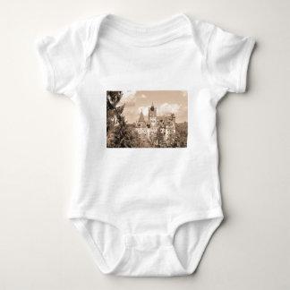 Dracula Castle in Transylvania, Romania Baby Bodysuit