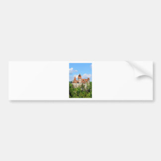 Dracula Castle in Transylvania, Romania Bumper Sticker