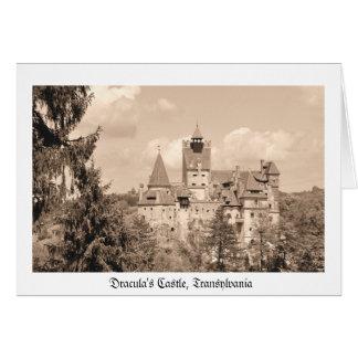 Dracula Castle in Transylvania, Romania Card
