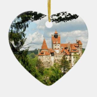 Dracula Castle in Transylvania, Romania Christmas Ornament