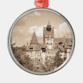Dracula Castle in Transylvania, Romania Christmas Ornament