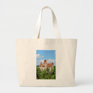 Dracula Castle in Transylvania, Romania Large Tote Bag