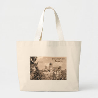 Dracula Castle in Transylvania, Romania Large Tote Bag
