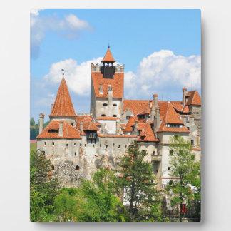 Dracula Castle in Transylvania, Romania Plaque