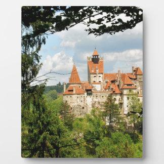 Dracula Castle in Transylvania, Romania Plaques
