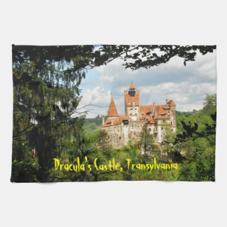 Dracula Castle in Transylvania, Romania Towel