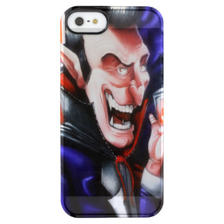 Dracula drinks blood clear iPhone SE/5/5s case