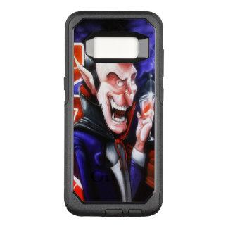 Dracula drinks blood OtterBox commuter samsung galaxy s8 case