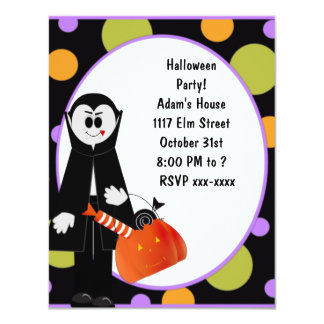 Dracula Halloween Party Invitation ~ Customize!