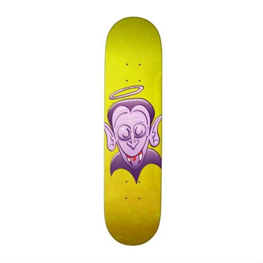 Dracula is Completely Innocent Custom Skate Board